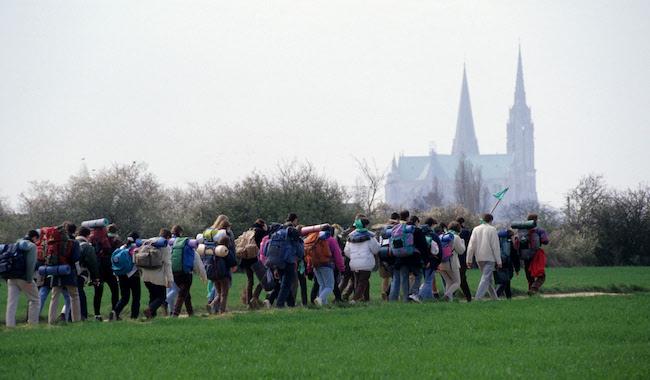 Pèlerinage à Chartres